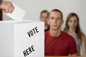 Young-people-voting
