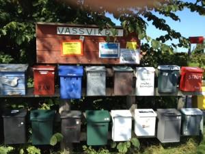 Vassviken Mailboxes